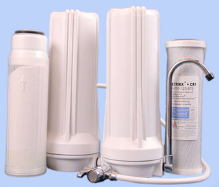 Twin Benchtop Filtration System 10