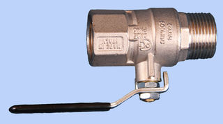 25 mm Male to 25mm Female Shutoff Valve