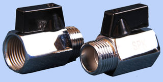 15 mm Male to 15mm Female Shutoff Valve