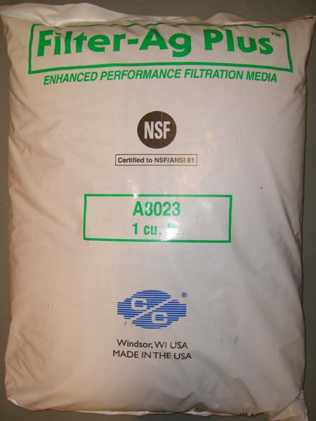 Filter AG Plus Multi Media NSF Approved