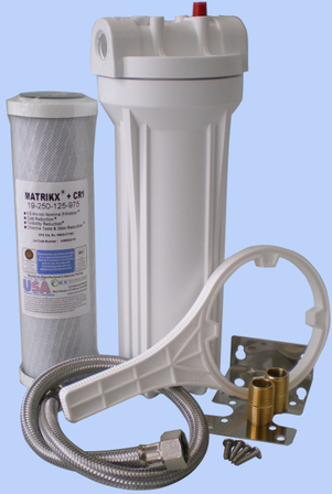 Water Filter Inline to Kitchen Faucet CR1