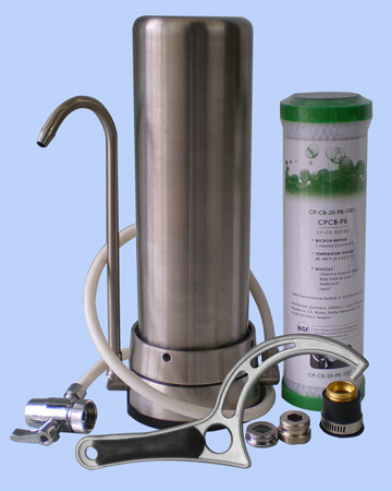 Stainless Steel Benchtop Filtration System 10